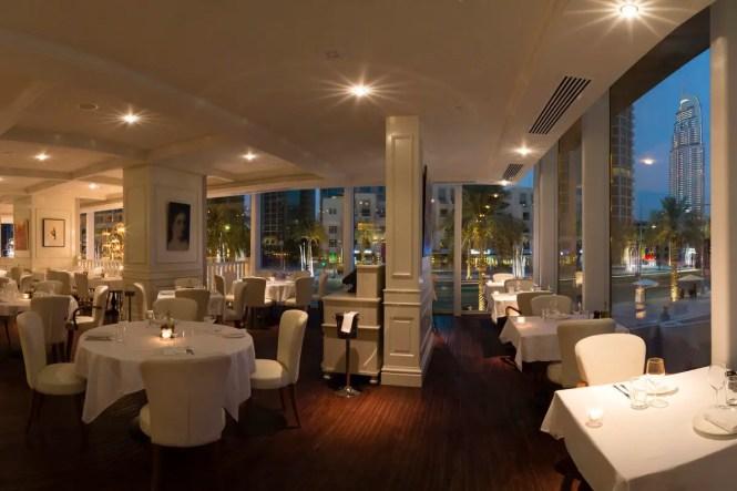 La Serre Bistro, one of the most romantic restaurants in Dubai