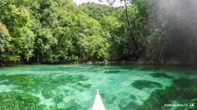 Sohoton Cove in Bucas Grande