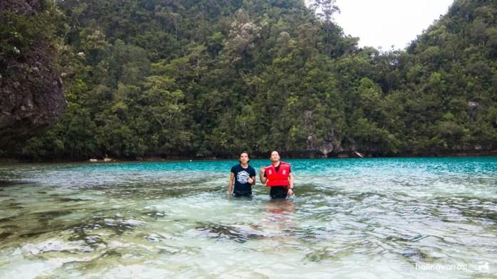 Tidal pool in Pangabangan Island, Libjo