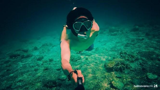 Hali snorkeling in Higatangan Island, Biliran