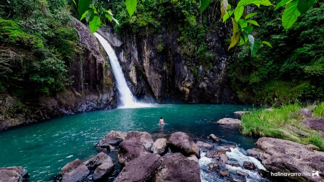 Tinago falls in Biliran; chasing waterfalls in Biliran