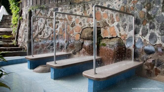 Luljetta's hydro-massage pool