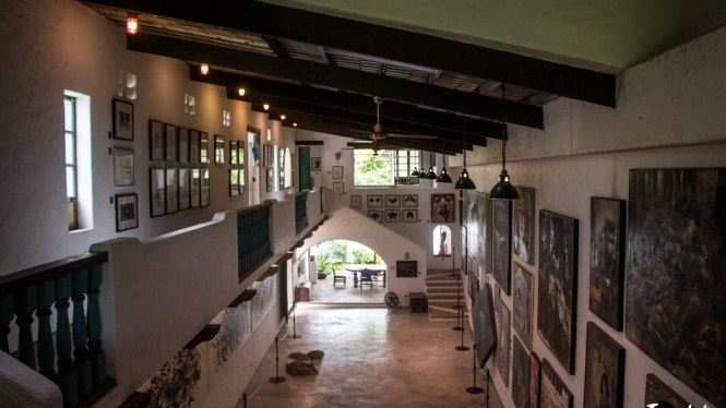 Pinto Art Museum gallery hall