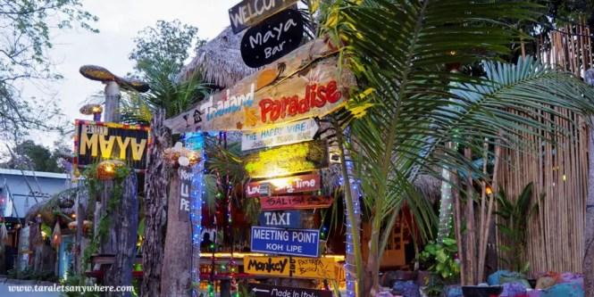 Bar in Koh Lipe