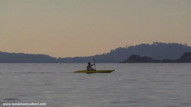 Kayaking in Koh Lipe, Thailand