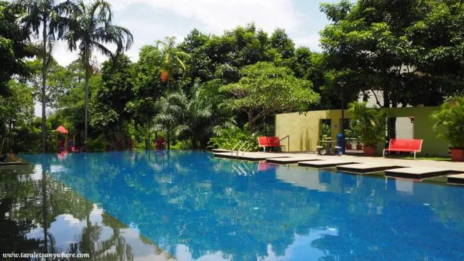 Condominium pool in Kuala Lumpur, Malaysia