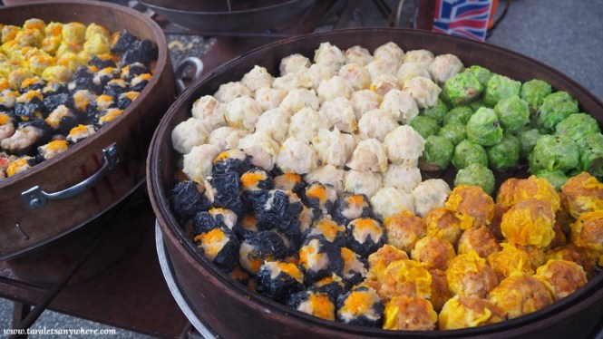 Taman Connaught pasar malam dumplings