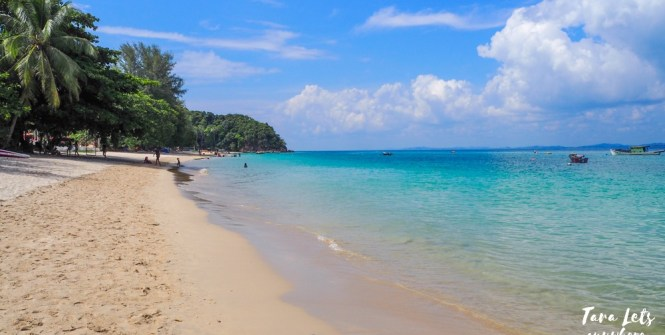 Beach in Kapas Island, Kuala Terengganu, Malaysia