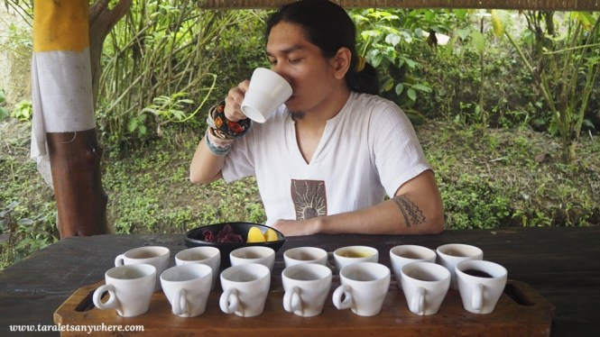Coffee and tea tasting in Ubud, Bali
