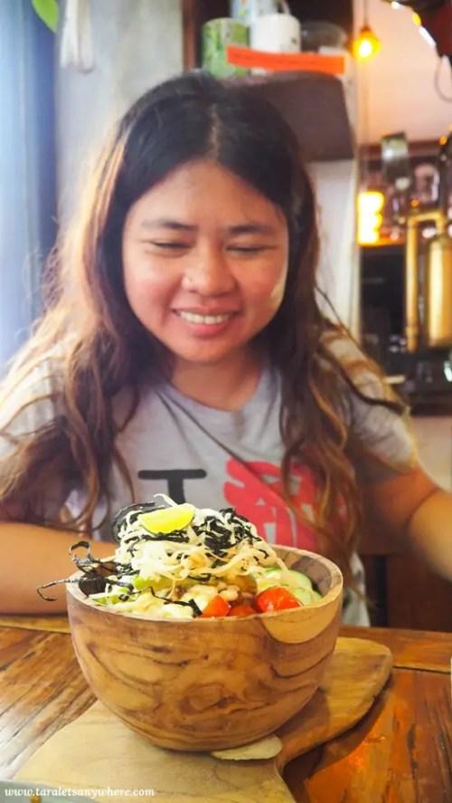 Pokebowl in Grain Cafe, Seminyak