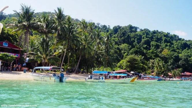 Coral Bay, Perhentian Kecil, Malaysia