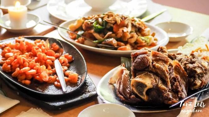 Hacienda de Palmeras - foods