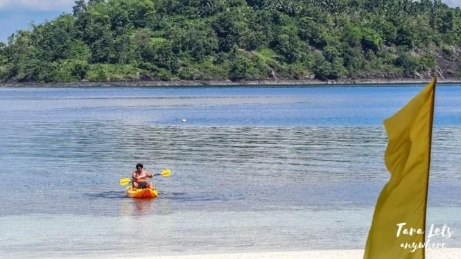 Kayaking in Bisaya-Bisaya Island, Once Islas