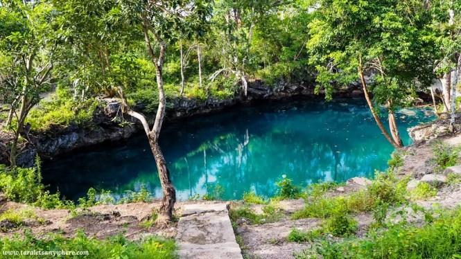 Lagoon in Muna Island, Sulawesi, Indonesia