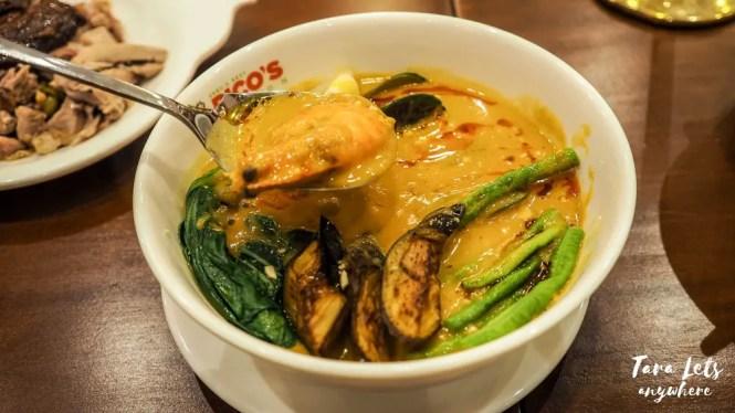 Rico's Lechon - seafood kare-kare