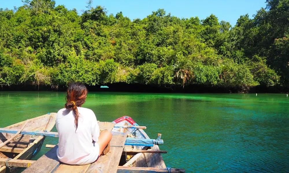 Napabale Lake in Muna Island, Southeast Sulawesi, Indonesia