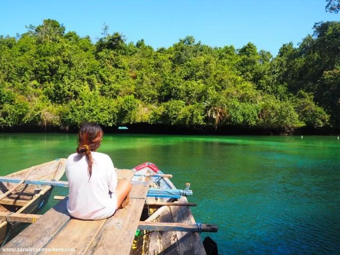 Napabale Lake in Muna Island, Sulawesi, Indonesia