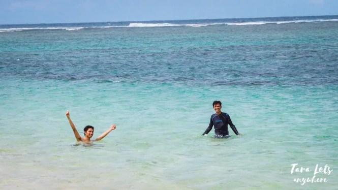 Swimming in Parola Island
