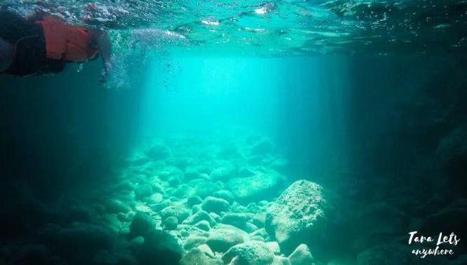 Swimming in Taytayin Cave, Batangas