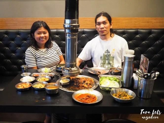Couple shot at Samgyupsalamat