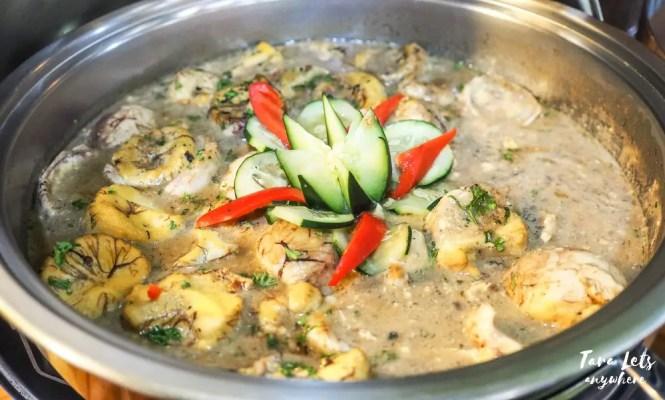 D Banquet buffet menu: Balut ala pobre
