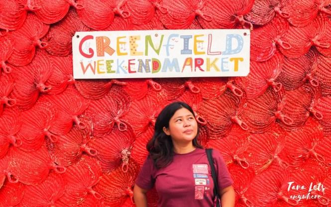 Kat in Greenfield Weekend Market, Mandaluyong