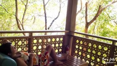 Veranda in deluxe room in Punta Verde Resort