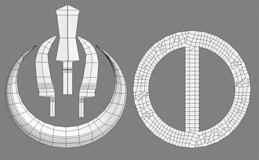 wireframe of the chand