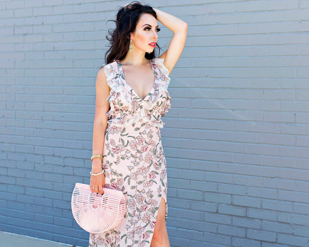 gracefully pink florals