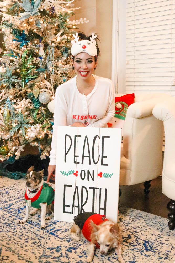 Wildfox Christmas Pajamas.30 Days Of Holiday Dress Ing No 4 Wildfox Christmas