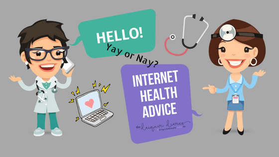 Internet health advice