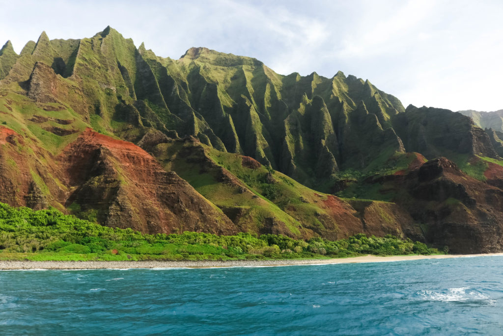 Na Pali Coast Cliffs
