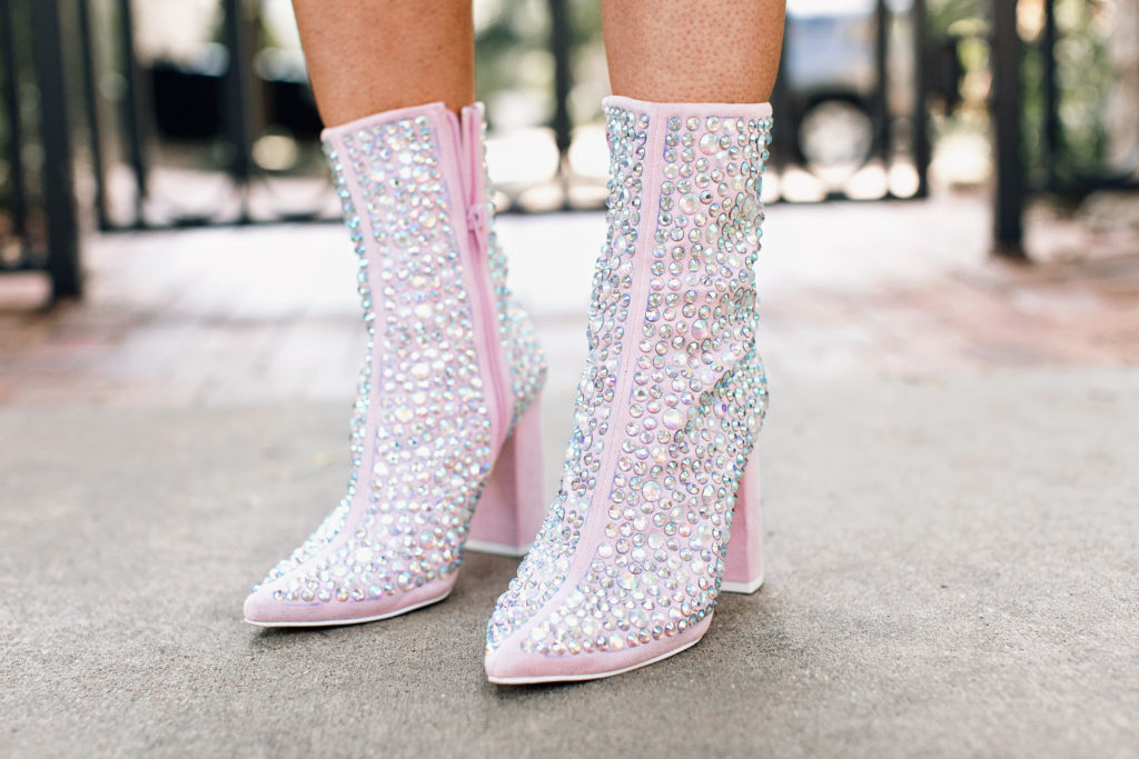 free people sparkle bootie
