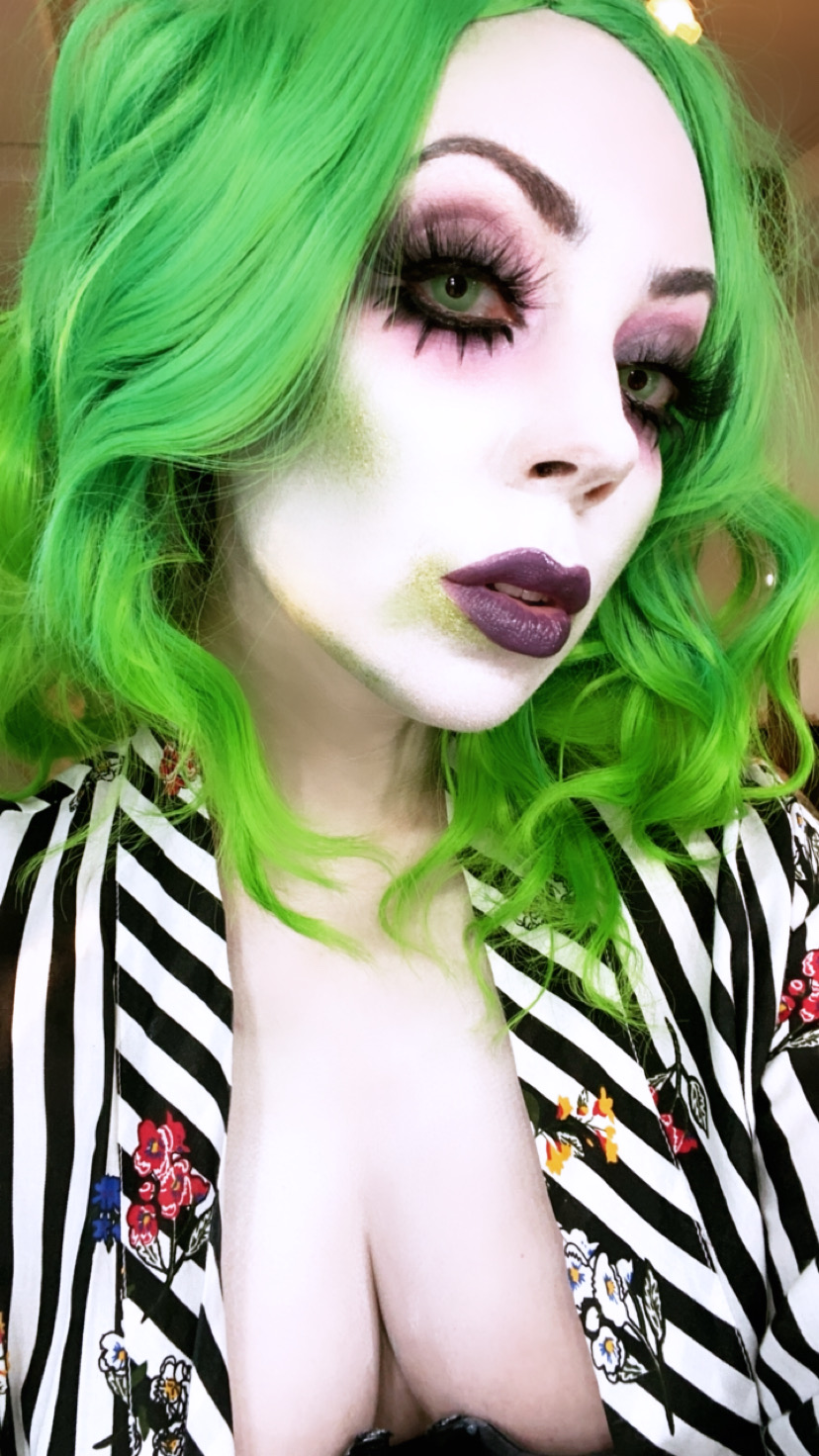 beetlejuice makeup