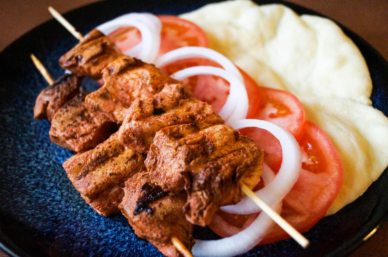 Shish Taouk (Syrian Chicken Skewers)