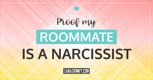 Proof my Roommate is a Narcissist | Plus some book recommendations to help you deal with yours!
