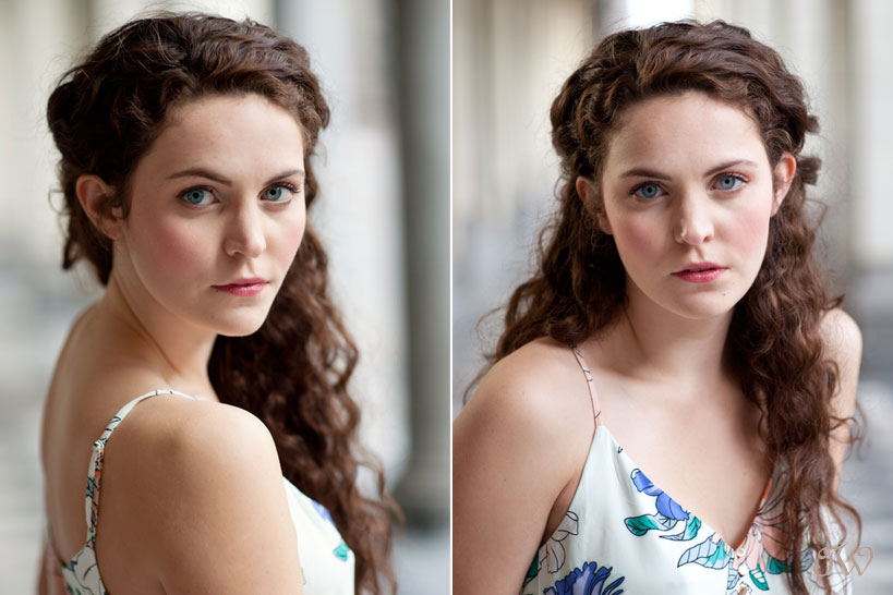headshots for actress Shannon Kehler captured by Tara Whittaker Photography