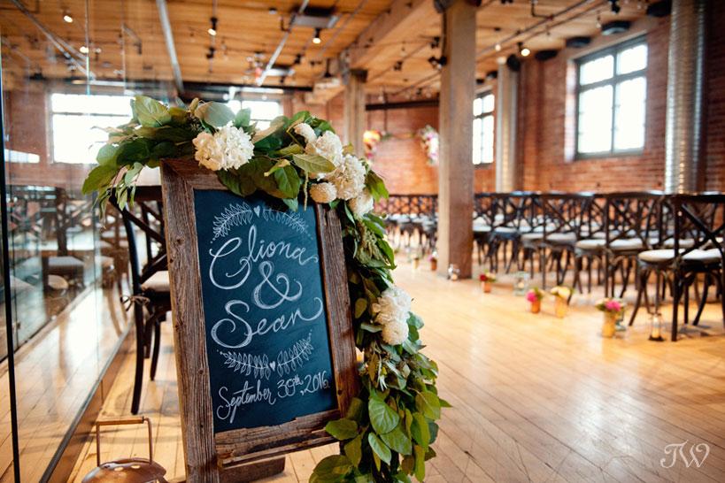 Wedding details at a Charbar Calgary wedding captured by Tara Whittaker Photography