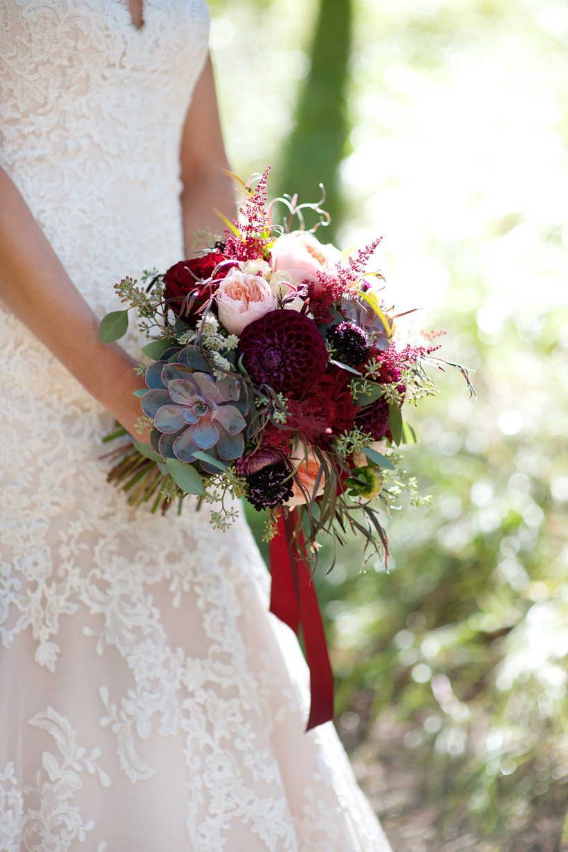 bridal bouquet from Willow Flower Co. captured by Tara Whittaker Photography