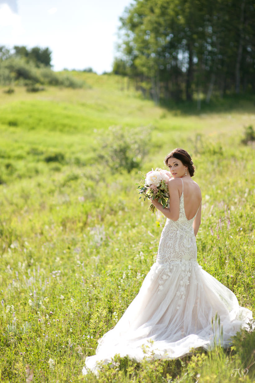 Persy bridal gown from Blush & Raven captured by Tara Whittaker Photography