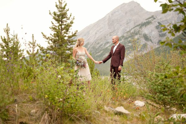 Spray Lakes engagement session