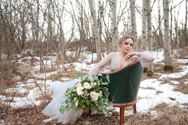 Winter Hayley Paige bride