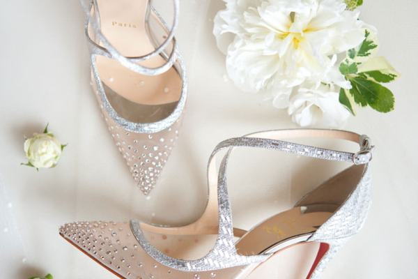 Christian Louboutin for a royal bride