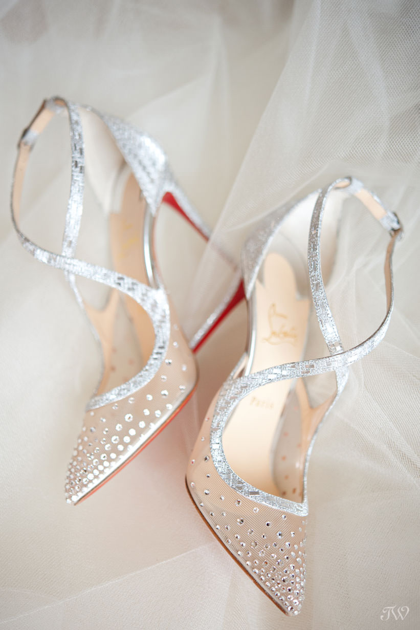 Christian Louboutin for a royal bride captured by Tara Whittaker Photography