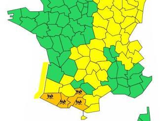 Pluies Inondations : les Hautes-Pyrénées en alerte orange