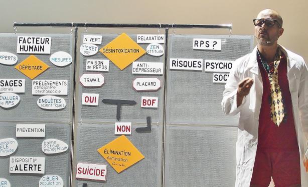 Une pièce de théâtre pour les grévistes de la clinique de l'Ormeau Tarbes