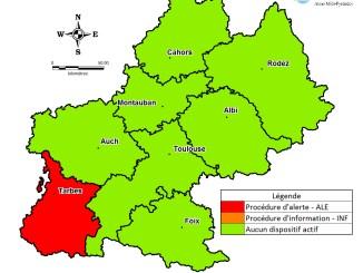4e journée de pollution consécutive à Tarbes