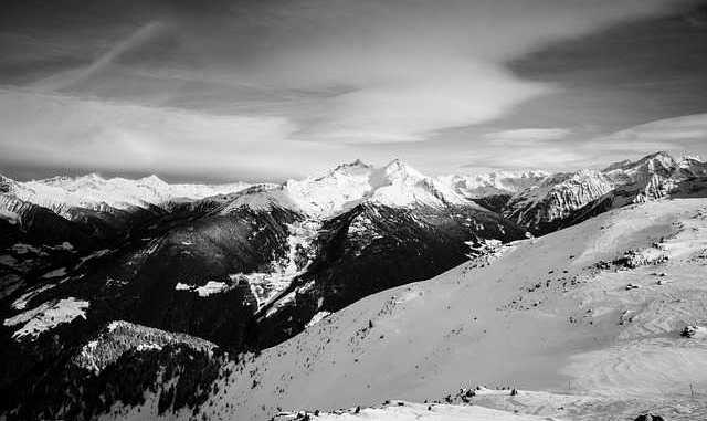 Neige à 1500 mètres sur les Pyrénées