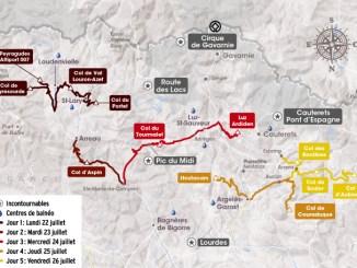 10 cols mythiques des Pyrénées réservés aux cyclistes pendant 5 jours après le Tour de France