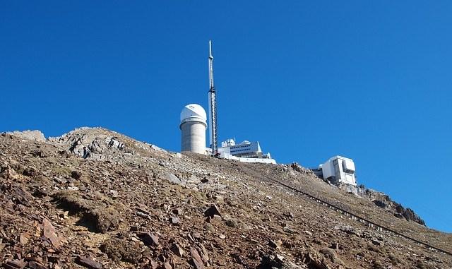 Record de chaleur au Pic du Midi